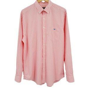 Vineyard Vines Gingham Slim Fit Tucker Shirt XL